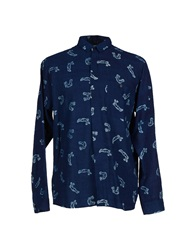 Henrik Vibskov Shirts Dark Blue
