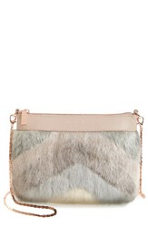 Ted Baker London Emmia Faux Fur Crossbody Bag