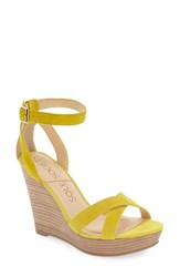 Sole Society Women's 'Colette' Wedge Sandal Sunflower