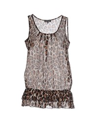 Who S Who Topwear Tops Women Brown