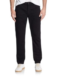 7 For All Mankind Paxtyn Luxe Performance Tapered Leg Jeans Black