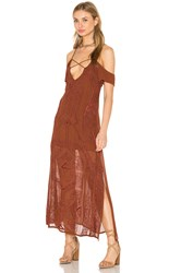 Cleobella Paris Dress Brown