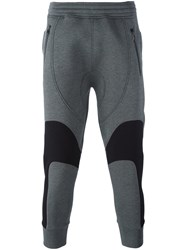 Neil Barrett Tapered Track Pants Grey