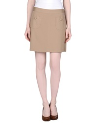 1 One Mini Skirts Sand