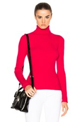 3.1 Phillip Lim Turtleneck Sweater In Pink