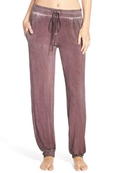 Daniel Buchler Washed Out Lounge Pants Wine