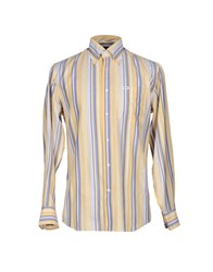 Faconnable Shirts Shirts Men Light Yellow