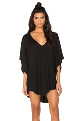 Riller And Fount Liza V Neck Tunic Black