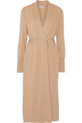 Temperley London Shaw Cashmere Cardigan Nude