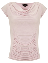Phase Eight Stella Cap Sleeved Top Dusty Pink