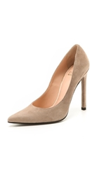 Stuart Weitzman Queen 110Mm Suede Pumps Haze