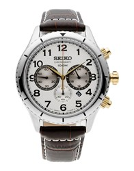 Seiko Timepieces Wrist Watches Men Dark Brown