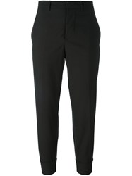 Marni Cropped Slim Fit Trousers Brown