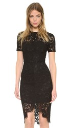 Lover Oasis Fitted Dress Black