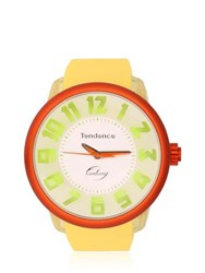 Tendence Fantasy 3H Yellow And Orange Watch