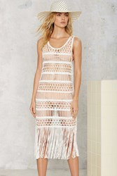 Nasty Gal Look Right Through Crochet Cover Up