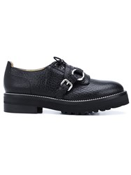 Moschino Monk Strap Shoes Black