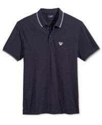 Armani Jeans Men's Polo Navy