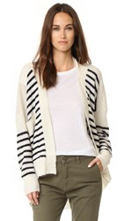 Mes Demoiselles Monfred Cardigan Ivory Blue