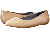 Dr. Scholl's Really Caravan Sand Patent Women's Flat Shoes Beige