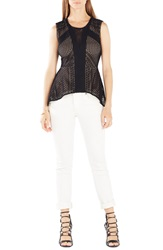 Bcbgmaxazria 'Dalina' Sleeveless Knit Top Black