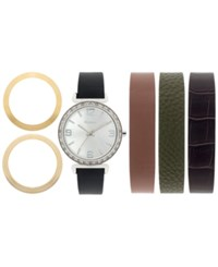Styleandco. Style And Co. Women's Interchangeable Strap Watch Set 36Mm Sy015neu No Color