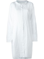 Rundholz Loose Fit Shirt Dress White
