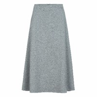 Etre Cecile Grey A Line Midi Skirt