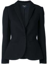 Paule Ka Bow Detail Suit Jacket Black