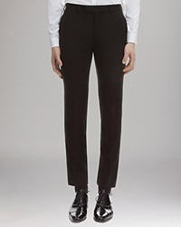 Sandro Suiting Pants Deep Black
