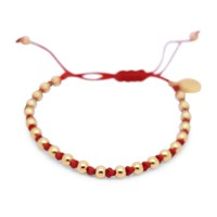 Gideon John Jewellery Yellow Gold Lux Red Knot