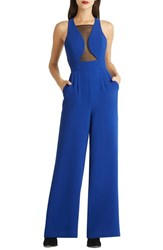 Women's Bcbgeneration Lace Trim Wide Leg Jumpsuit