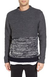 Native Youth Men's Colorblocked Polar Knit Sweater