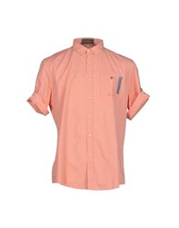 Trussardi Jeans Shirts Shirts Men Orange