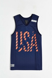 10.Deep Vctry Allsport Tank Top Navy