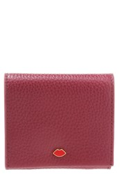 Lulu Guinness Hettie Wallet Cassis Bordeaux