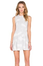 Keepsake Sun Up Mini Dress Gray