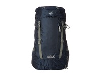 Jack Wolfskin Acs Hike 24 Pack Night Blue Backpack Bags Navy