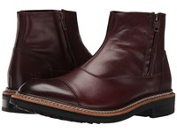 Caterpillar Adner Burgundy Men's Zip Boots