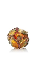 Lydia Courteille One Of A Kind Gardens Of Xochimilco Ring Multi