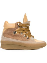 Isabel Marant Etoile 'Brent' Boots Nude And Neutrals