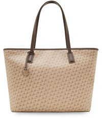 Taupe Cc Printed Tote Neutral