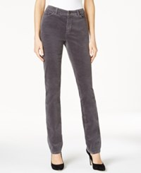 Charter Club Lexington Corduroy Straight Leg Pants Only At Macy's Shadow Grey
