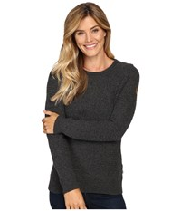 Fjall Raven Vik Structure Sweater Dark Grey Women's Sweater Gray