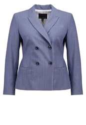 Banana Republic Blazer Spa Blue Light Blue