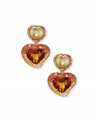 Margot Mckinney Jewelry Hearts Desire South Sea Pearl And Madeira Citrine Drop Earrings