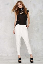 Nasty Gal Citizens Of Humanity Sadie Utility Pant White