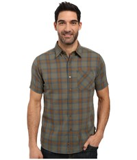 Kuhl Tropik S S Shirt Forest Men's Short Sleeve Button Up Green