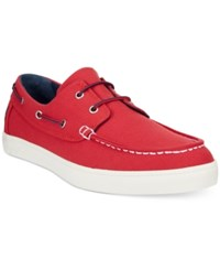 Timberland Men's Newport Bay Boat Shoes Men's Shoes Red