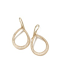 Stardust Pear Shaped Diamond Earrings Ippolita